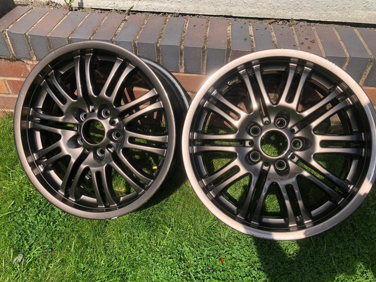 Bmw E46 M3 18 Inch Alloy Wheels In Wv1 Wolverhampton For 90 00 For Sale Shpock