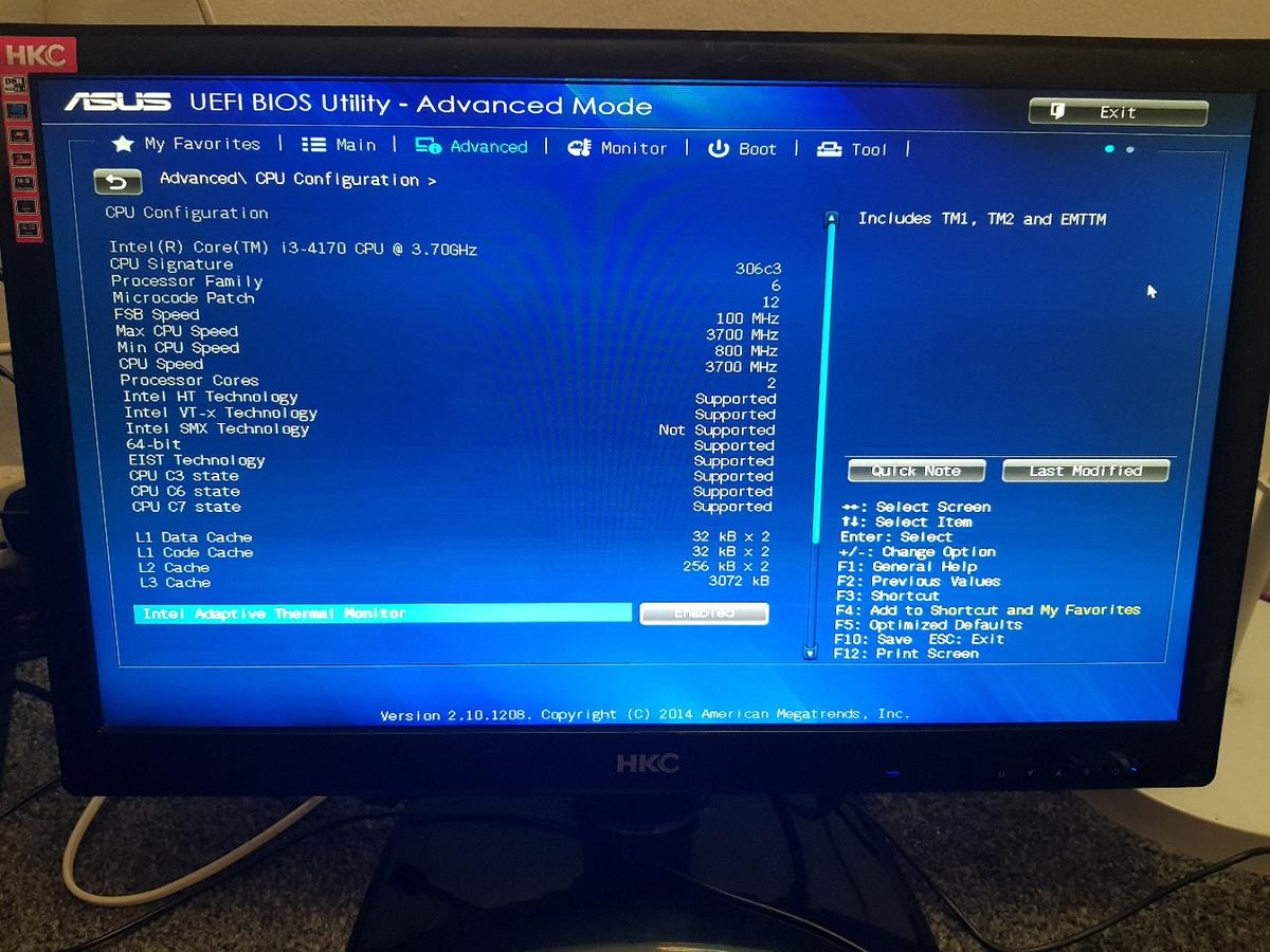 asus core i3 pc setup in B23 Birmingham for £140 00 for sale