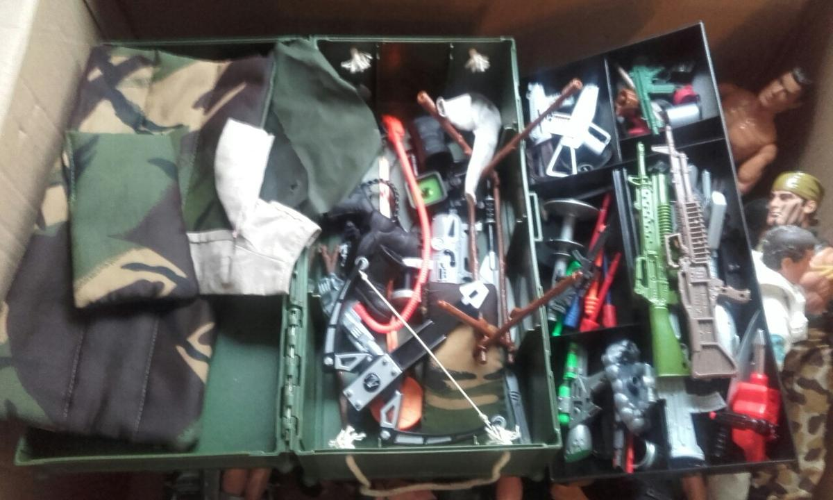 Action Man figures and accessories in B45 Birmingham for