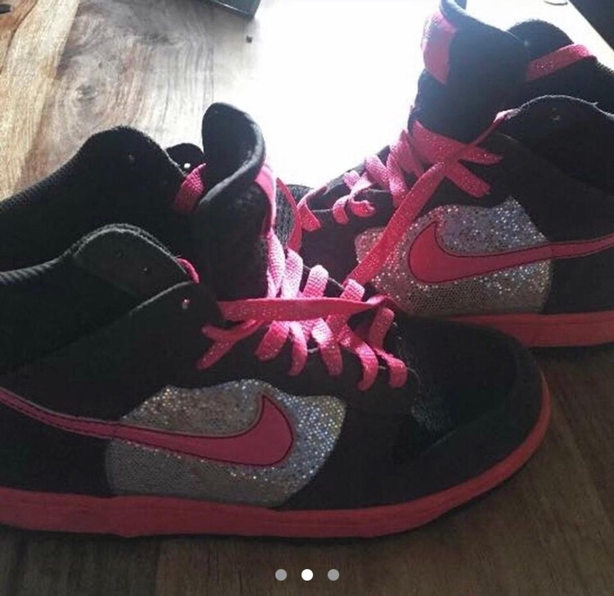 nike trainers with glitter