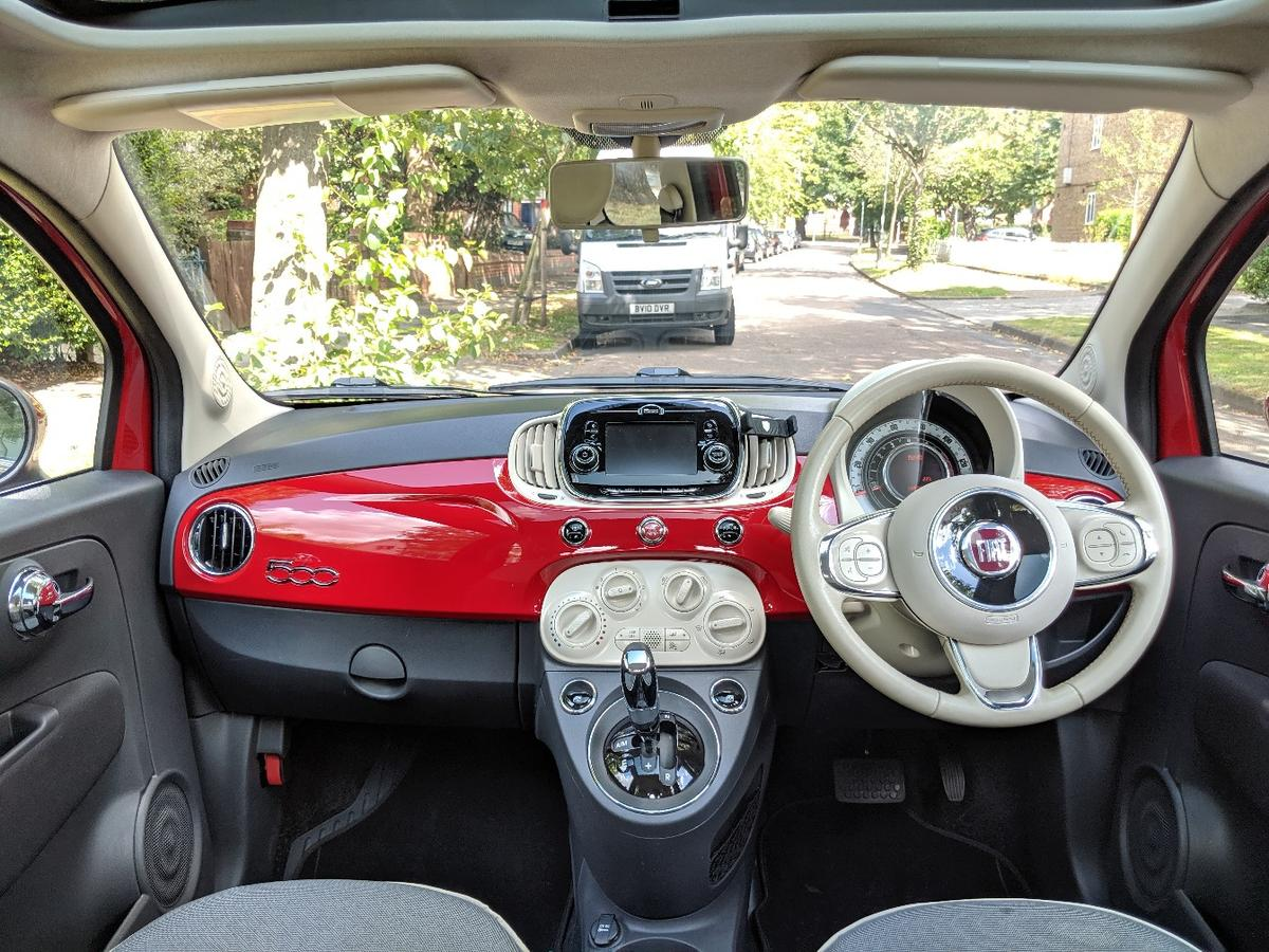 Fiat 500 Lounge Automatic In Sw17 London Borough Of Wandsworth For 6 950 00 For Sale Shpock