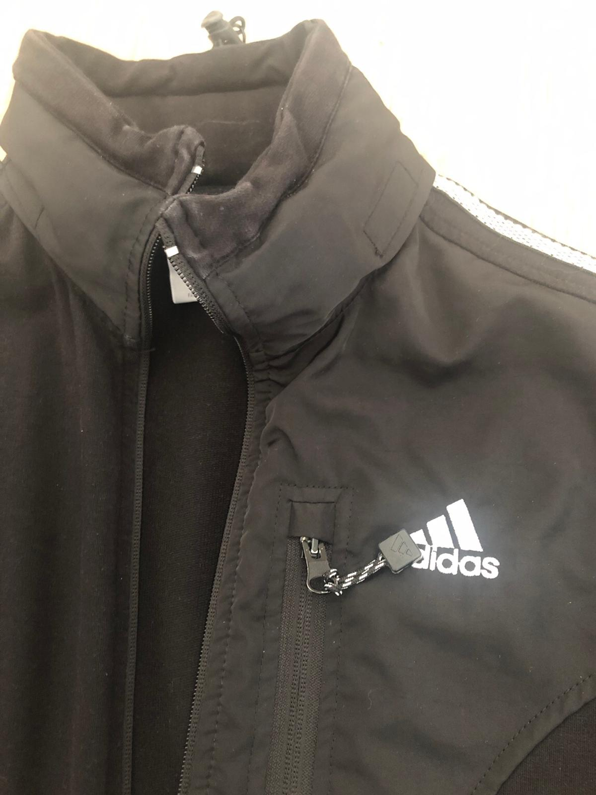 Damen Adidas Sportjacke schwarz, Gr. S in 36119 Neuhof for