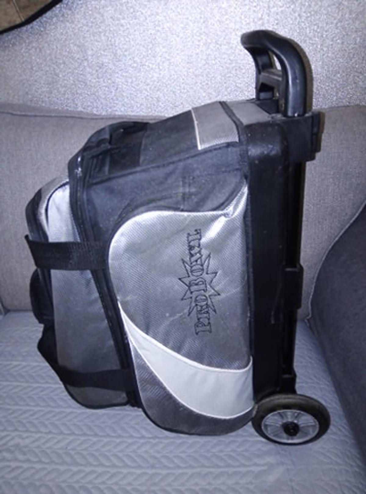 2 Ball Bowling Bag Trolley