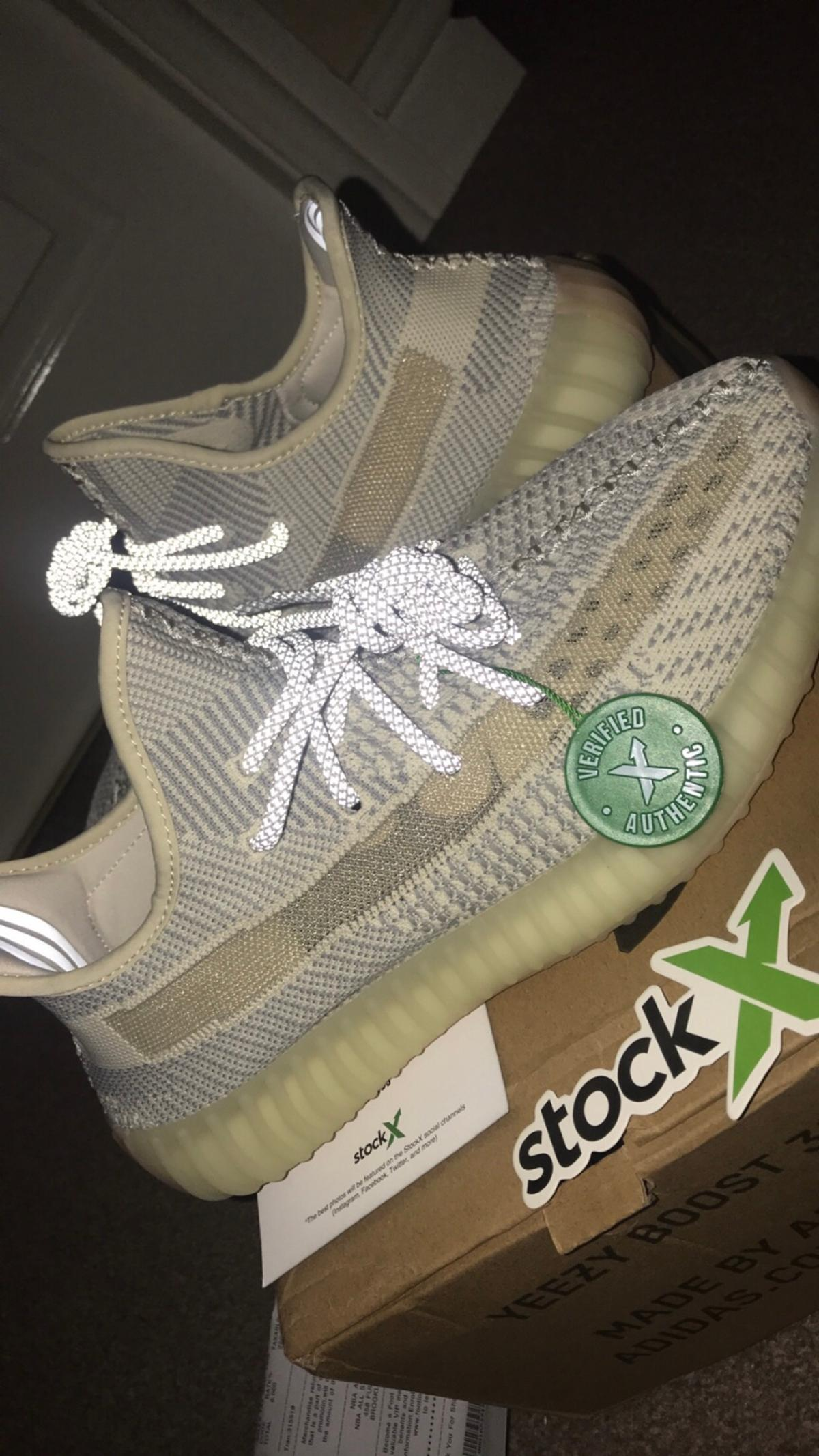 Men's Adidas yeezy boost 350 v2 LUNDMARK NEW in DY2 Dudley