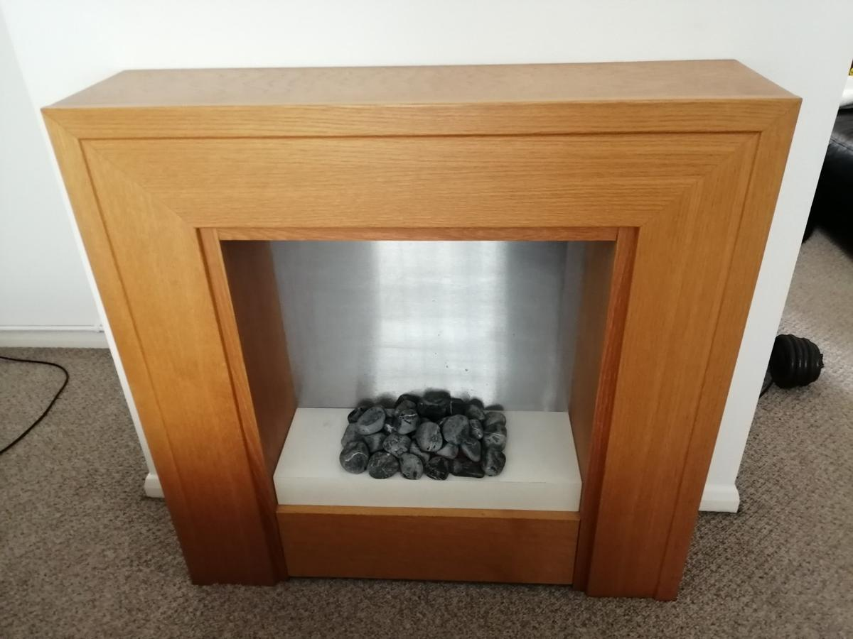 Electric Fireplace Wood In Wr1 Worcester For 50 00 For Sale