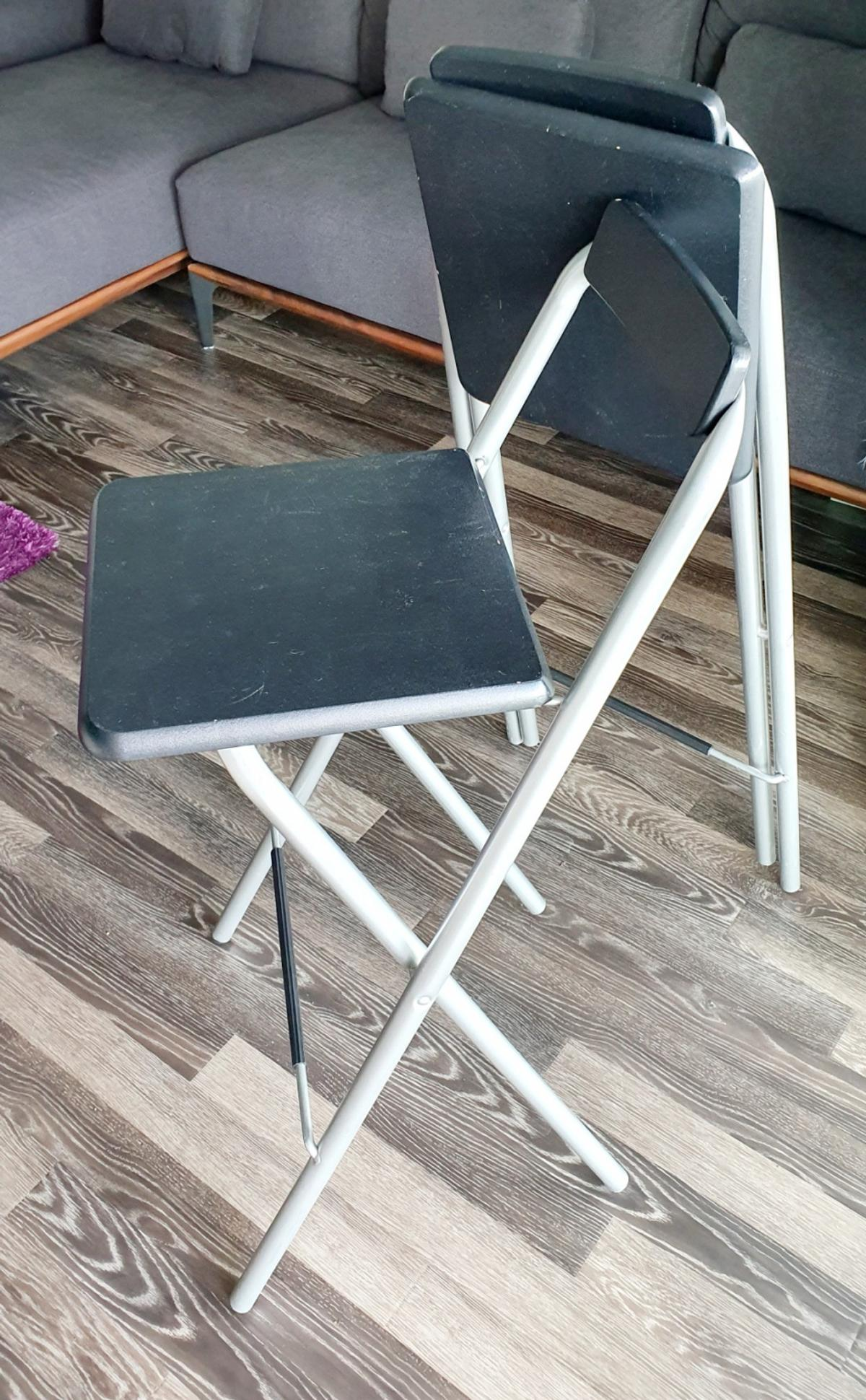 2 X Bar Stools Foldable From Argos In Se8 London For 15 00 For Sale Shpock
