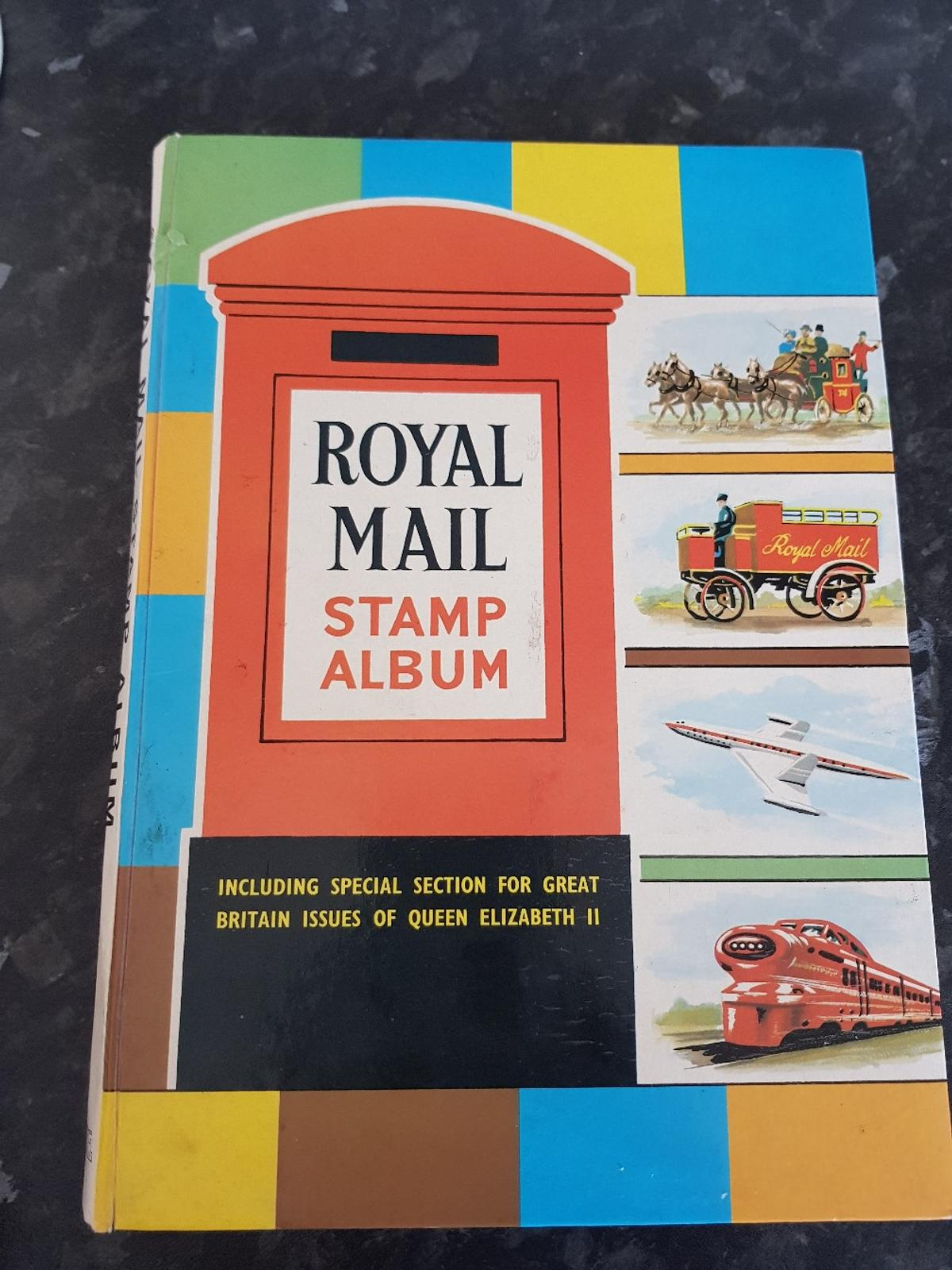 this stamp book has over 450 interesting stamps... for example the one penny red.. 1966 queen Elizabeth British birds.. 1966 Christmas stamps and 1967 famous British paintings 1967/1968 silver jubilee three half pence stamp..loads of British stamps and may other countries grab a bargain on this lot for £350 no offers tell 07751187673