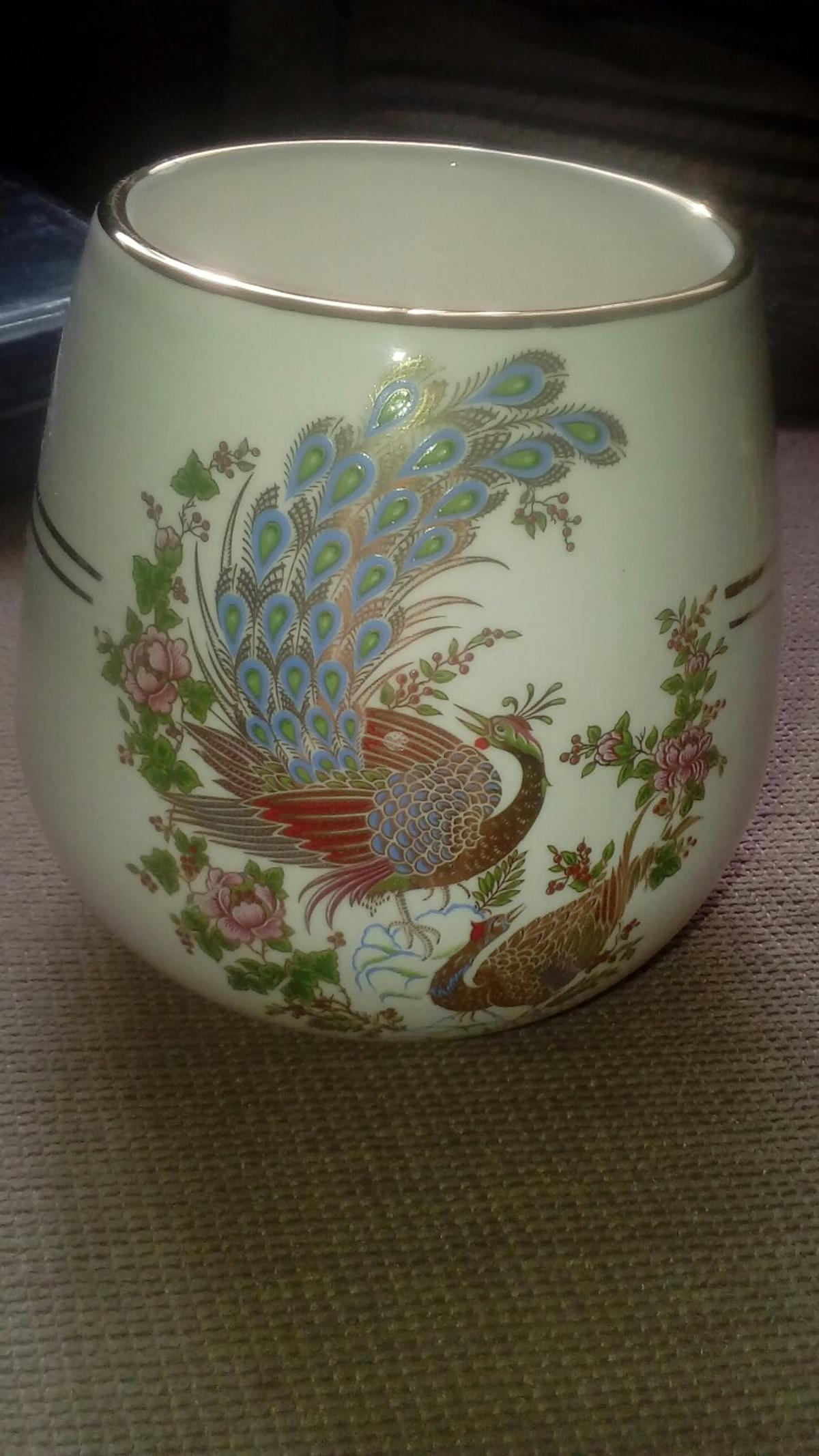 excellent condition lovely peacock design