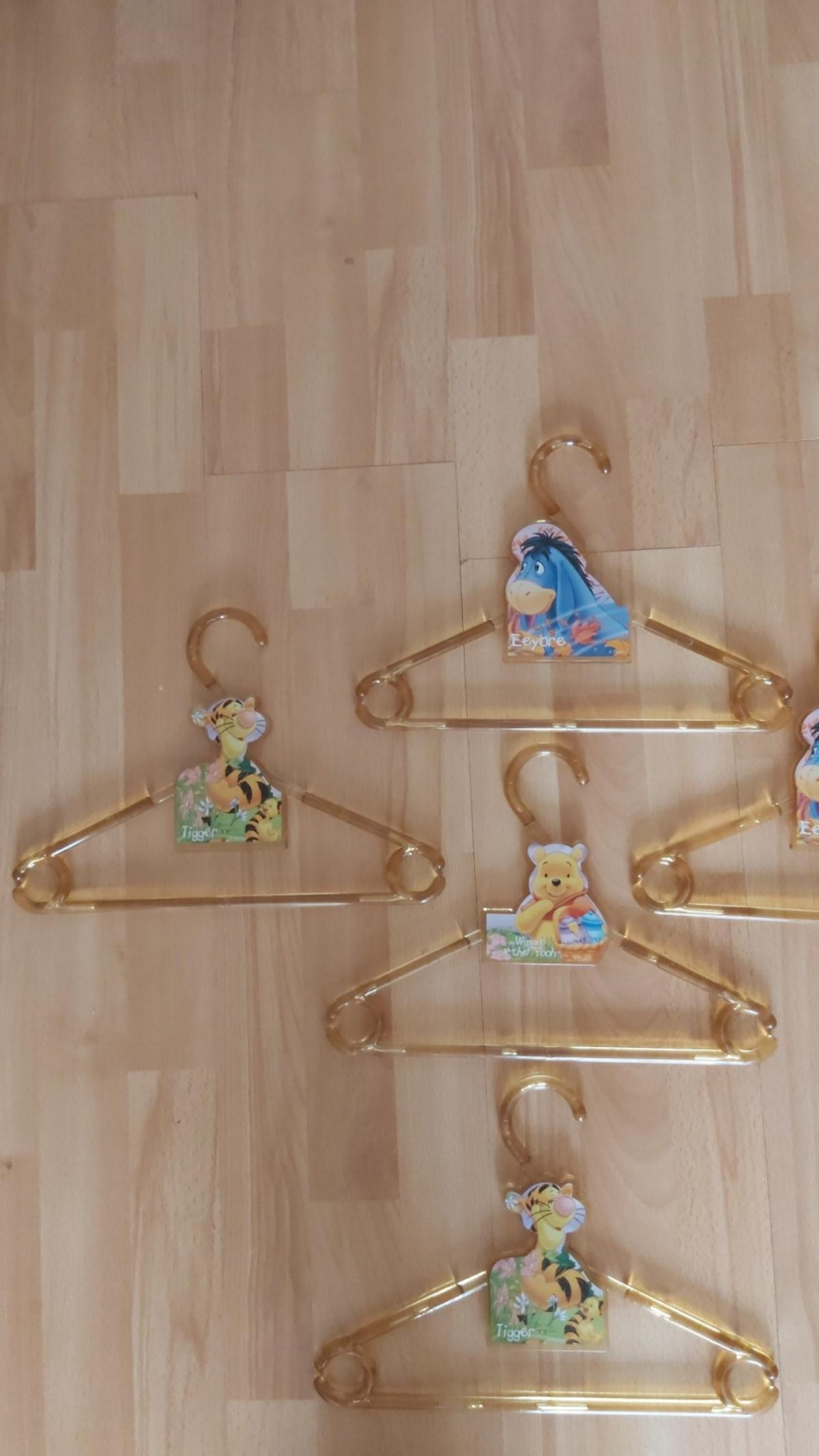 5 Disney Sturdy Plastic Coat Hangers(Collection Only)