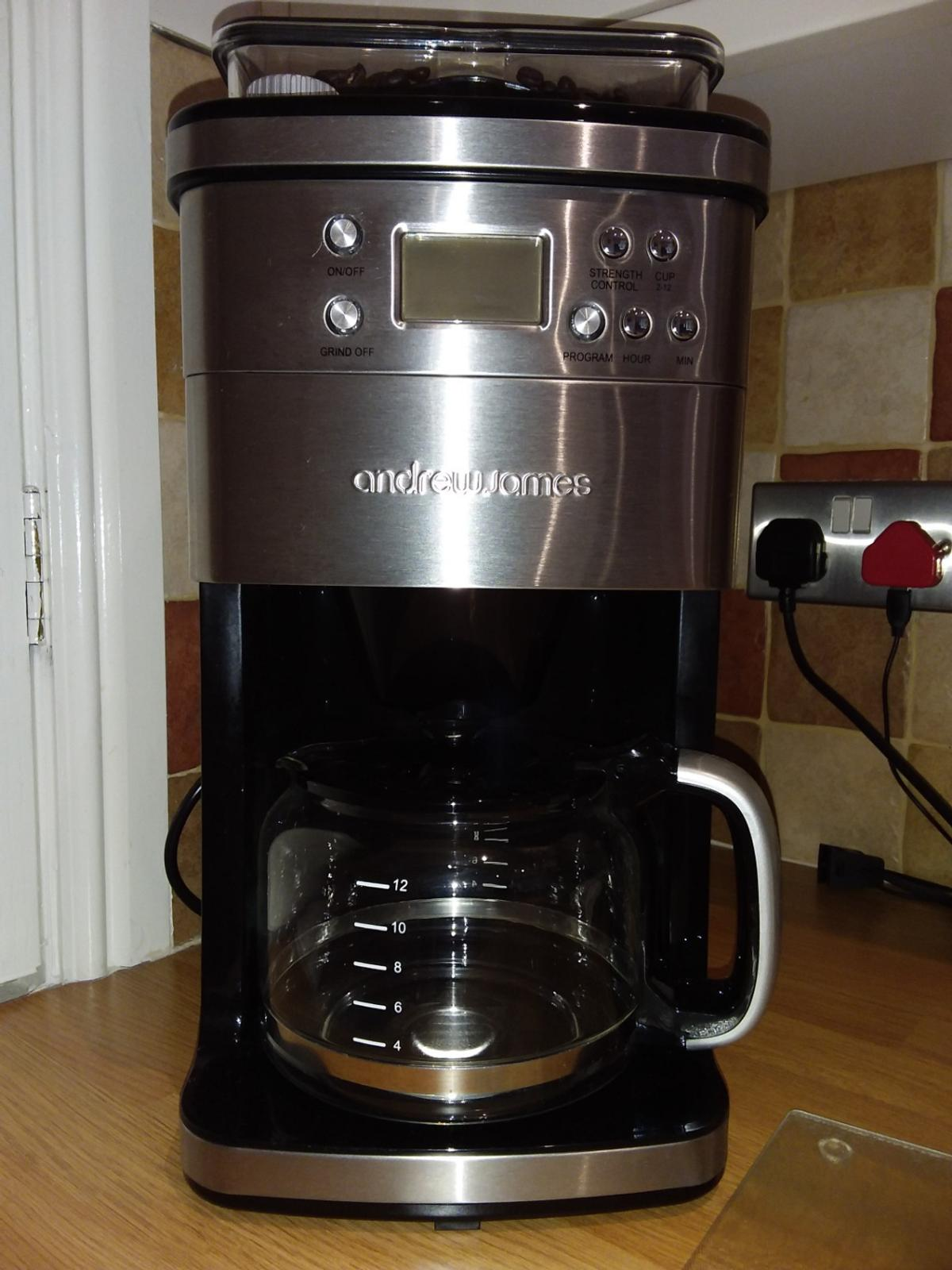 Andrew James Bean To Cup Coffee Maker
