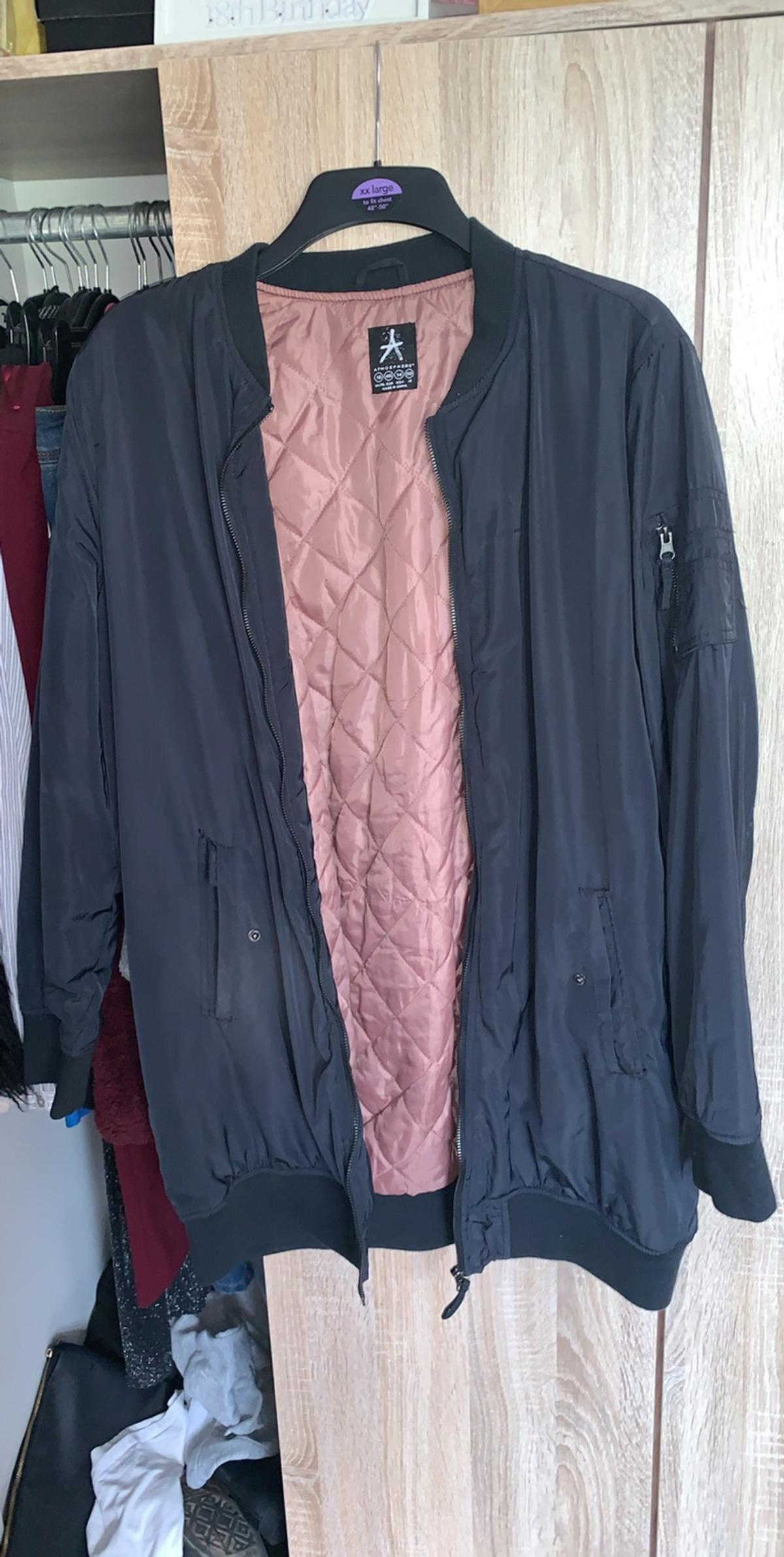 Bomber jacket Worn once or twice Primark - size 20