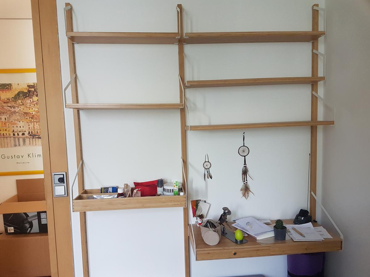 Wandregal Aus Holz Von Ikea In 82110 Germering For 75 00 For Sale