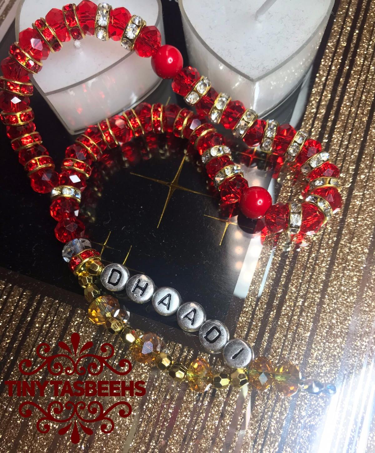 "Red gleams like the Love 💖 for Allahﷻ, most merciful ✨📿✨📿 A beautiful Red tasbeeh 📿made to order ✨📿✨📿 Order your today the gift that gives blessings ✨📿 Alhumdililah ✨📿✨📿 Make Dhikr (devotional acts) with your tasbeeh, we all need to be patient sometimes as we await things to happen. ✨📿✨📿 ""Be patient Indeed Allahﷻ, (most merciful) is with those who patiently endure"" (8:46) ✨ ....""and seek help in patience and prayer"" (2:153-154) ✨📿✨📿✨ Message me today for details ✨📿✨📿 33 bead Tasbeeh 📿"