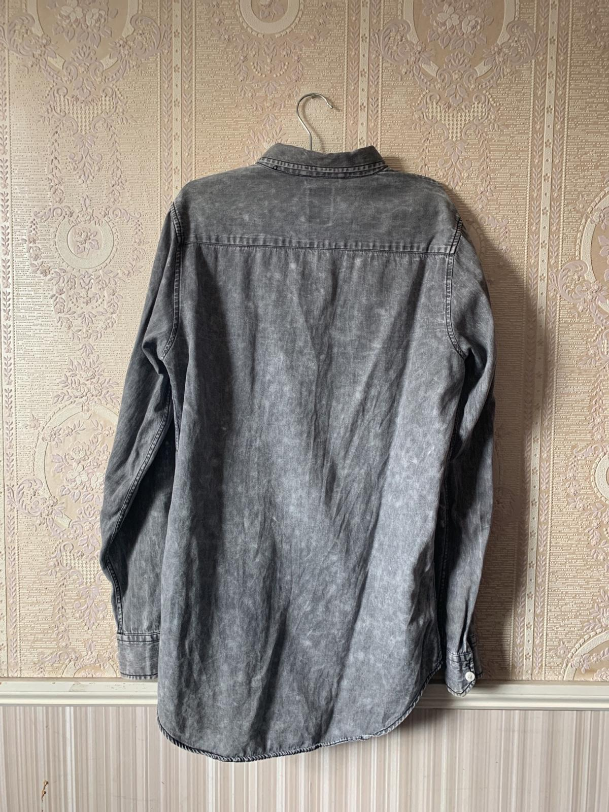What : Grey Shirt.  Additional Info: Size S. Worn a few times.  Who For : Men. Condition : Alright condition.  Feel Free To Ask Any Questions.  Collection & Delivery , From East London or South London.  ( Check Out My Other Items, You May Just Find The Bargain You're Looking For 😉)  Orginal price £40, bought from Zara.