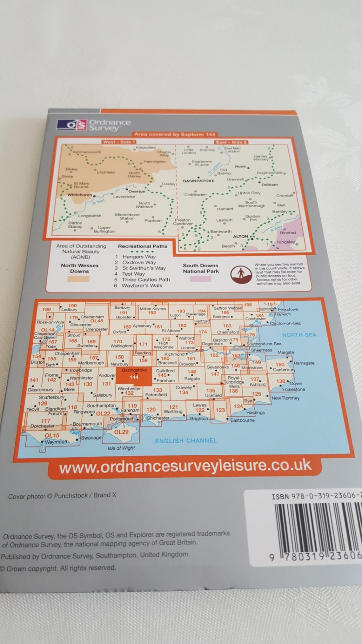 Like new. It covers Basingstoke, Alton, Witchurch, Odiham, Overton and hook. Costs £10. Collection in person.