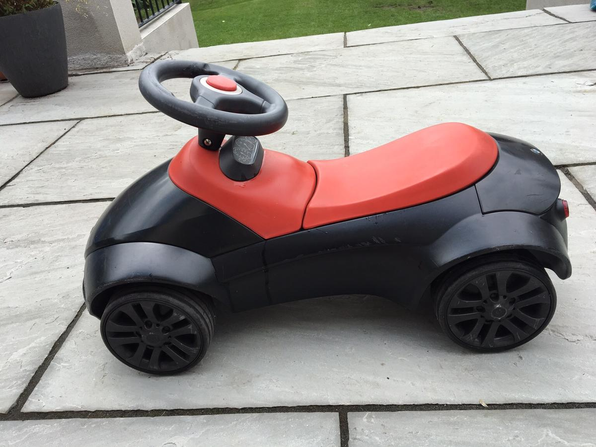BMW child racer. Kids have grown up no longer use. Was given to them as a gift. Have had for a few years but not been used much hence in good condition. A few scratches here and there but as you can see from pic overall it's a great racer. Collection Only.