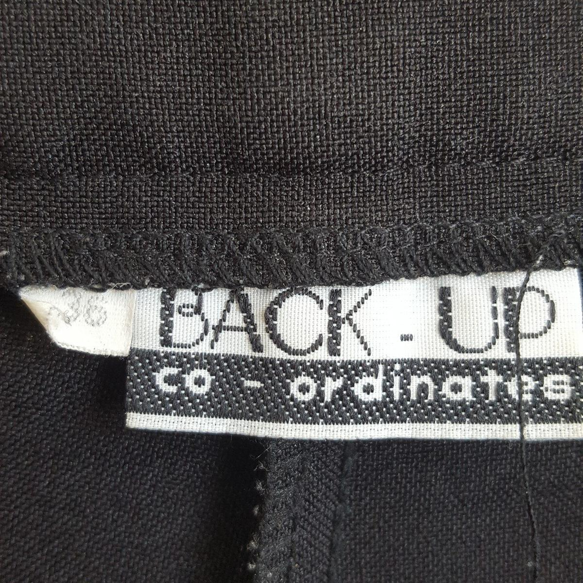"""plain black work trousers in good condition. Size 32"""" waist"""