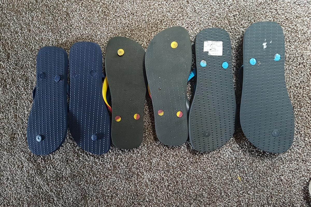 Havanah flip flop 3 pairs 2 have never been worn and the other only a couple of times size 6 Selli g for £30 Or best offer