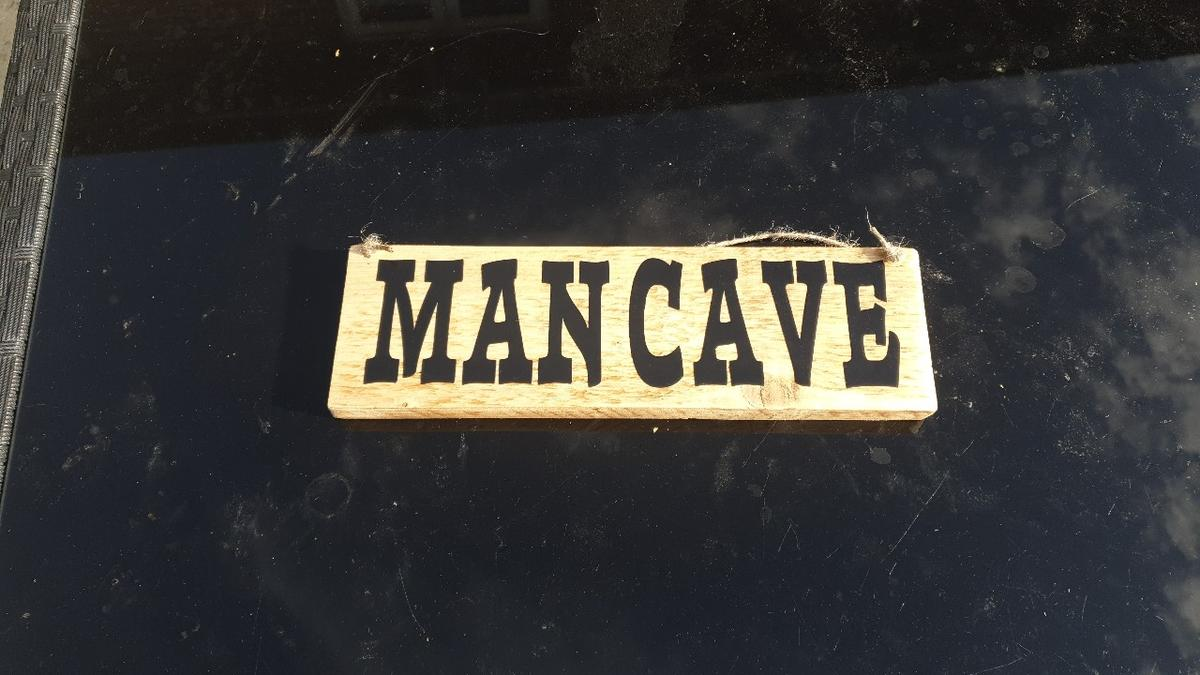 handmade wooden signs with any slogan u would like or any colour u would like. all sign varnished with all weather varnish so can be hung up indoors or outdoors The small signs are £4 and large are £7
