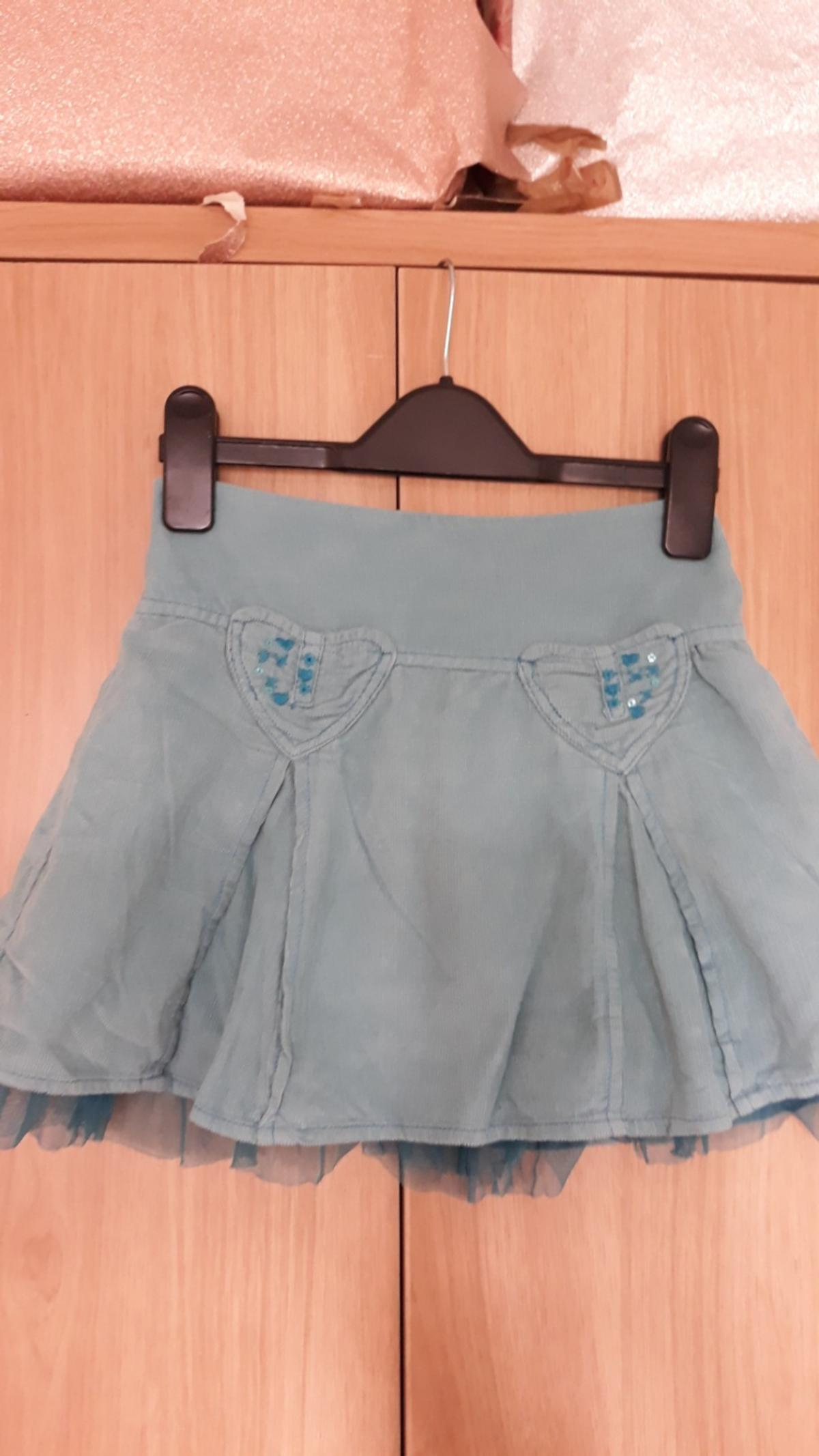 Cherokee cord skirt light blue  pickup kirksandall
