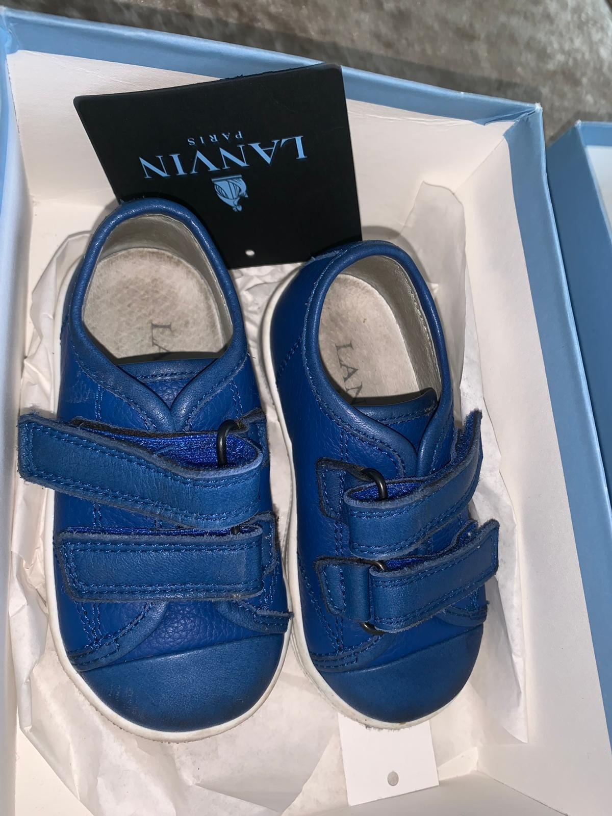 Lanvin boys shoes Size 5 (21) Great condition Can post