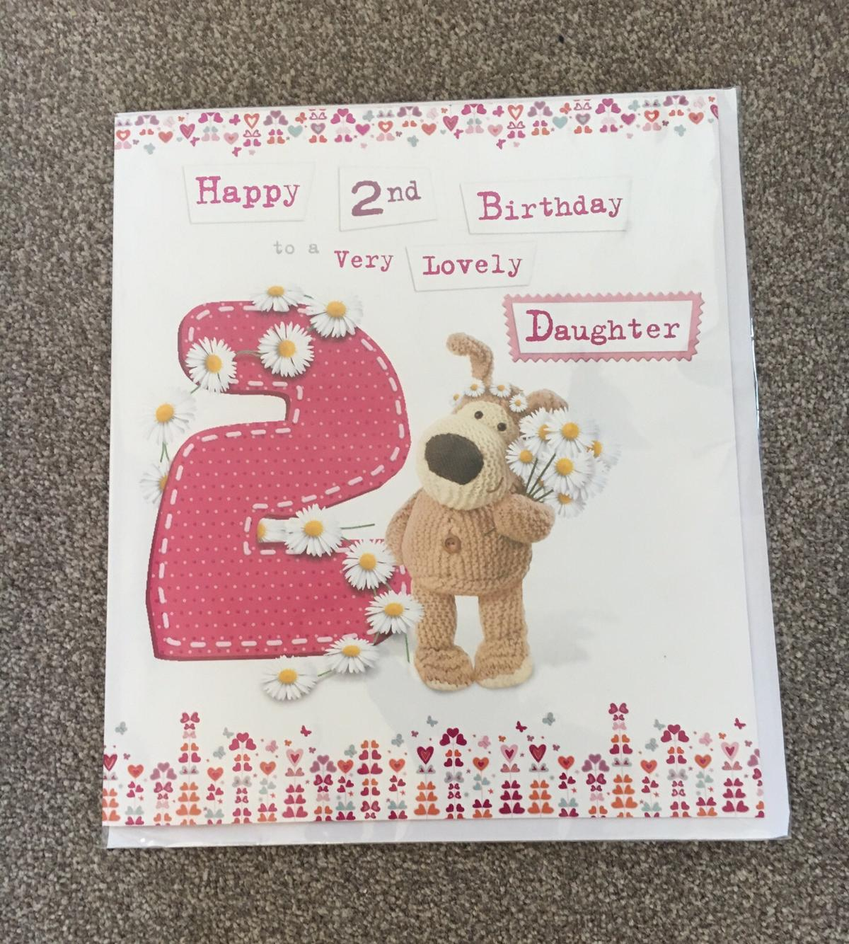 Wondrous Boofle 2Nd Birthday Card Daughter In B97 Redditch For 1 50 For Funny Birthday Cards Online Inifodamsfinfo