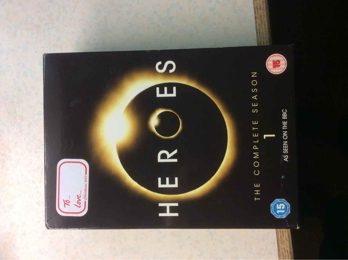 The complete heroes season 7x DVDs excellent condition