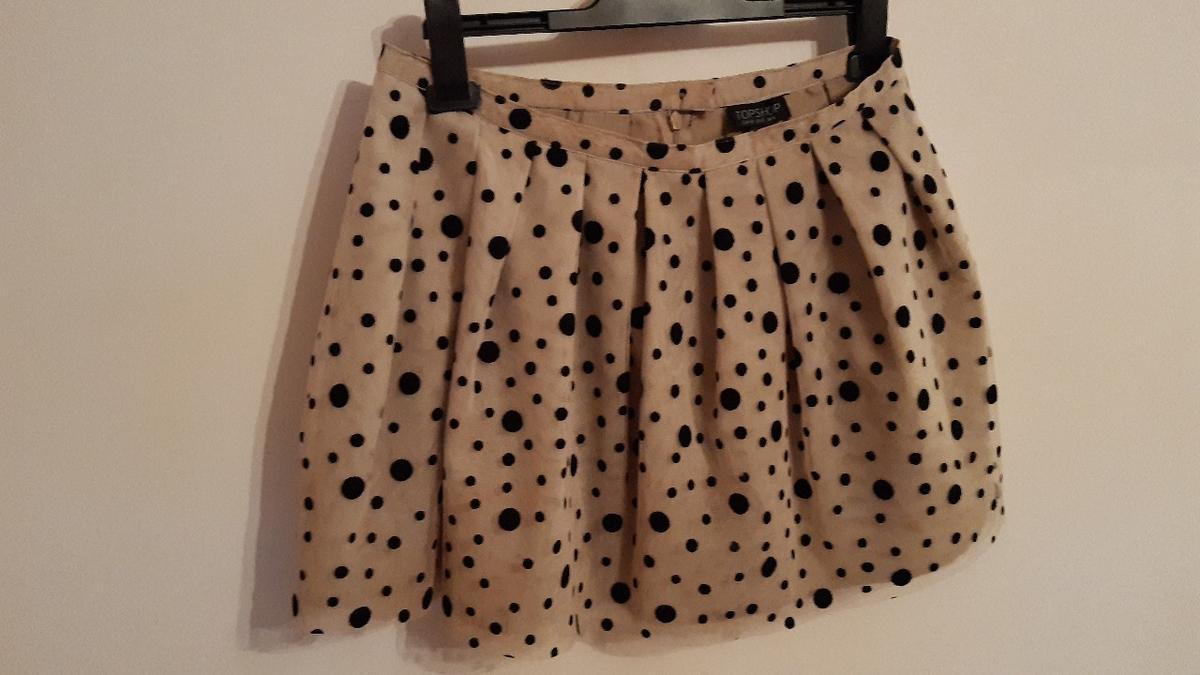 uk size 12 mini skirt from Topshop
