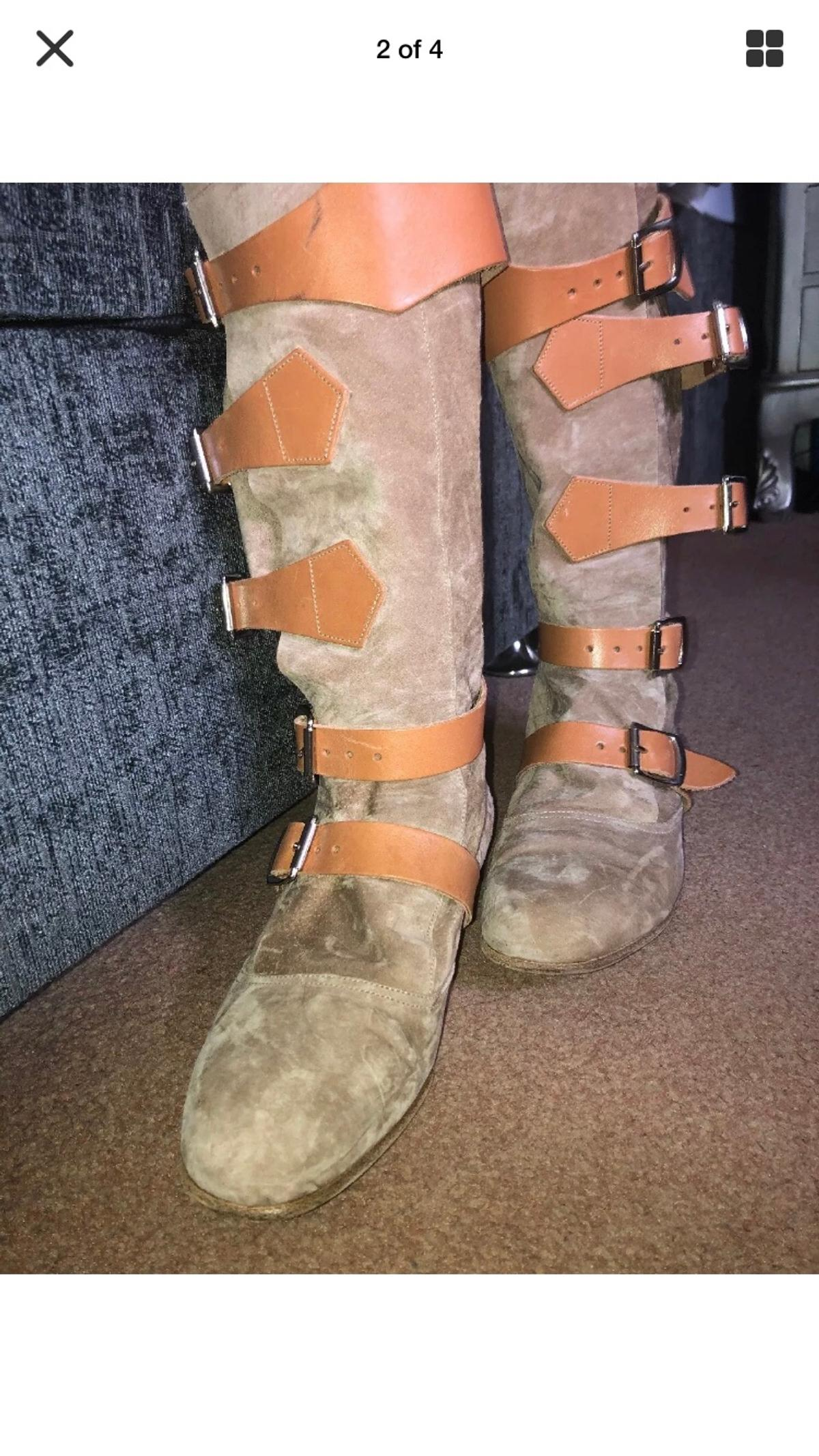 Vivienne Westwood pirate boots size 5 worn a few times