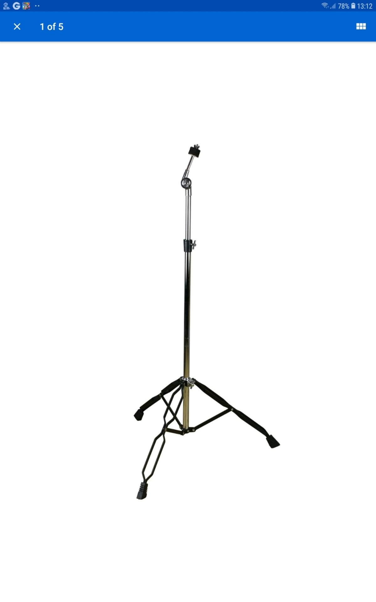 brand new cymbal stand still in box