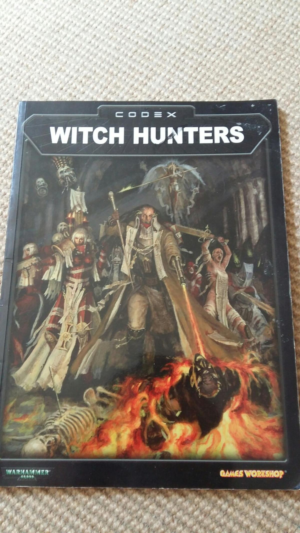 The codex of the witch hunters of the Ordo Hereticus