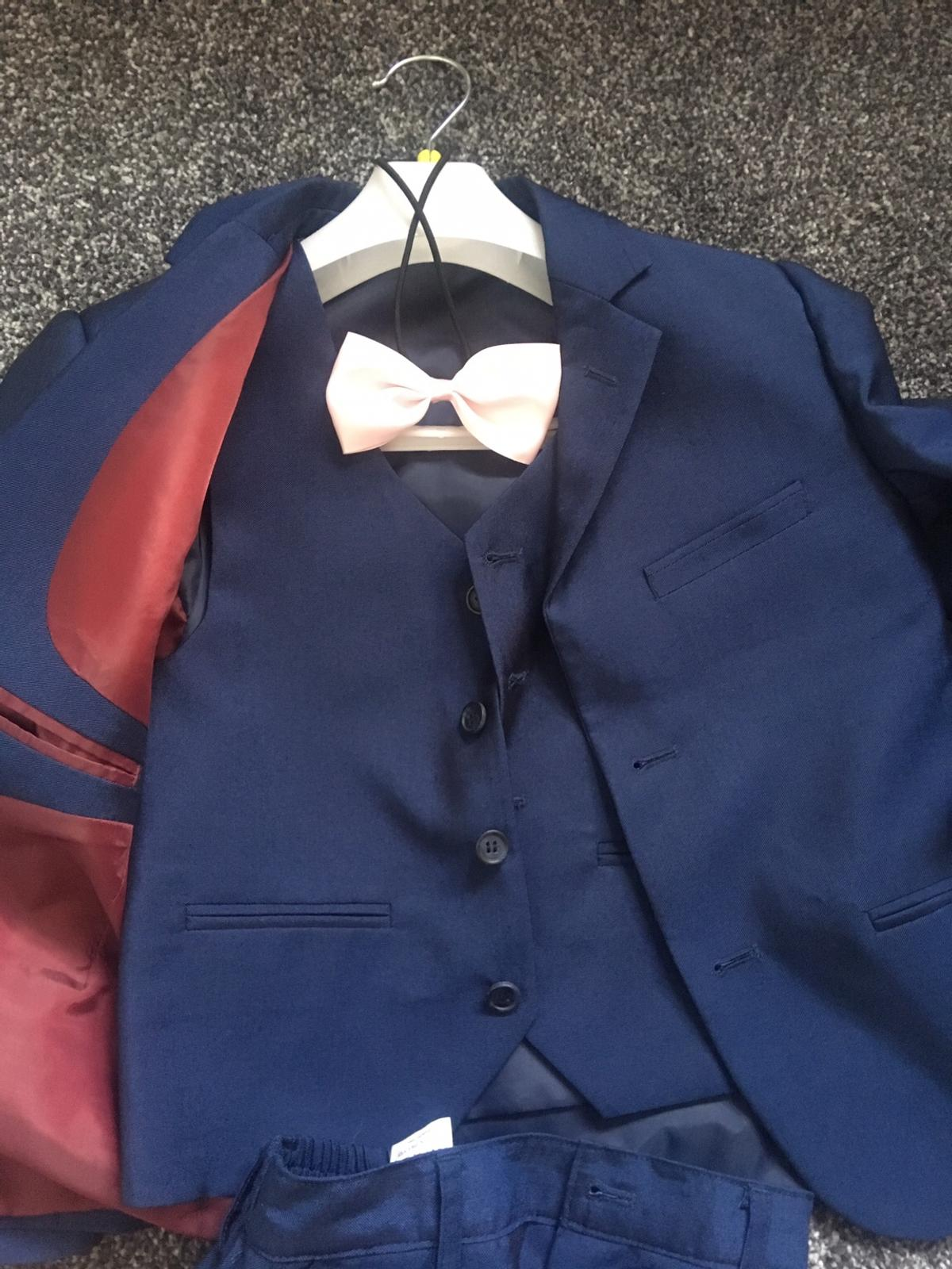 small mark on the knee great condition otherwise. Blue with pink bow tie. £10 each