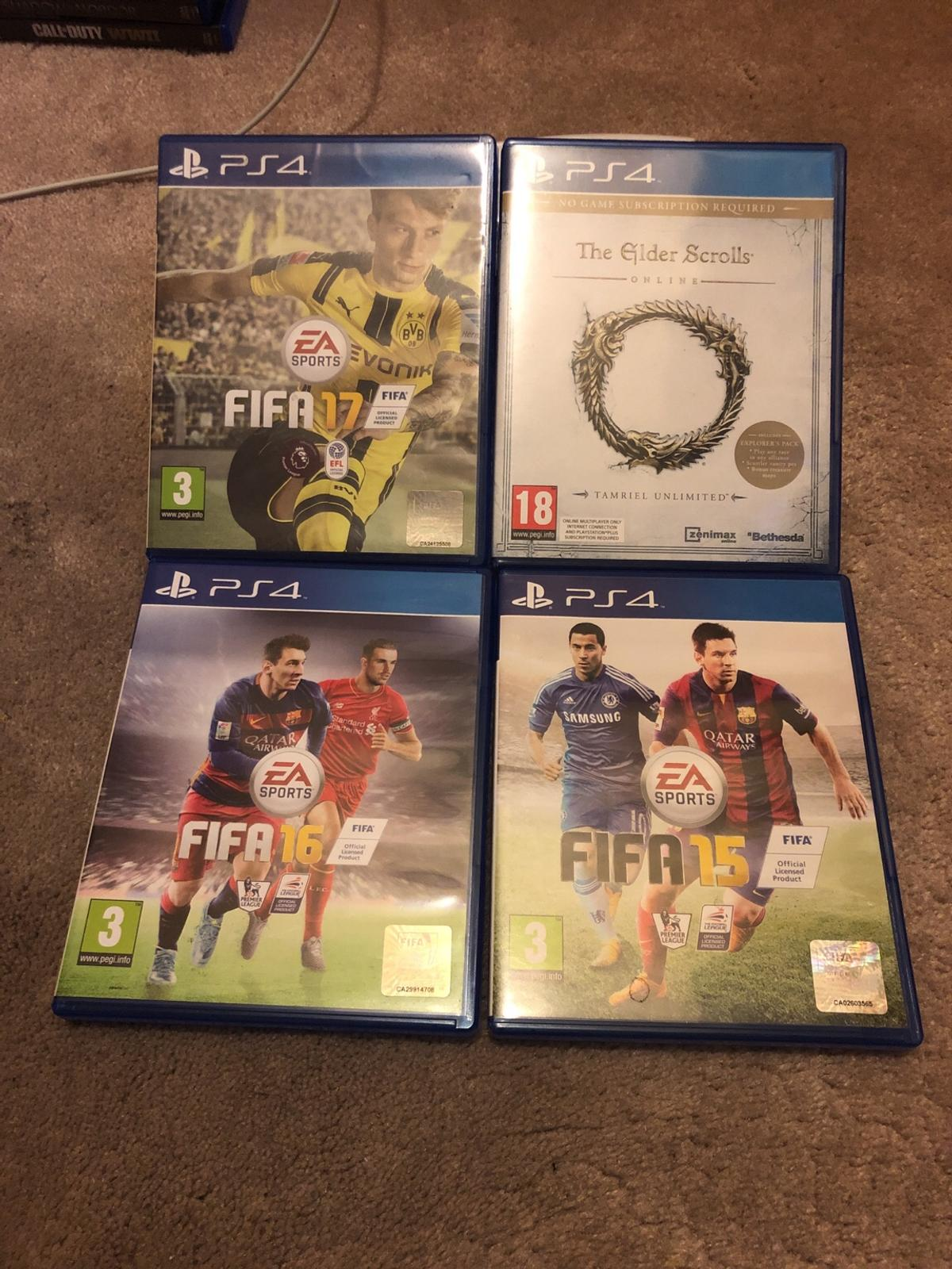 The games as picture above.  £5 the lot.  Smoke free, pet free home.  Please see my other listings.