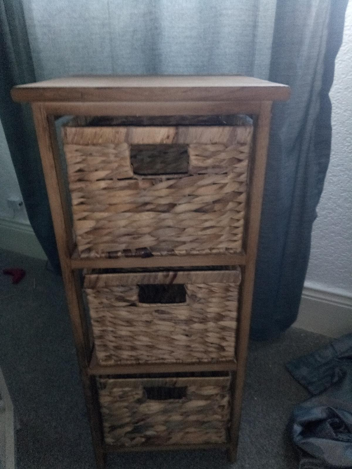 dunelm drawers perfect condition