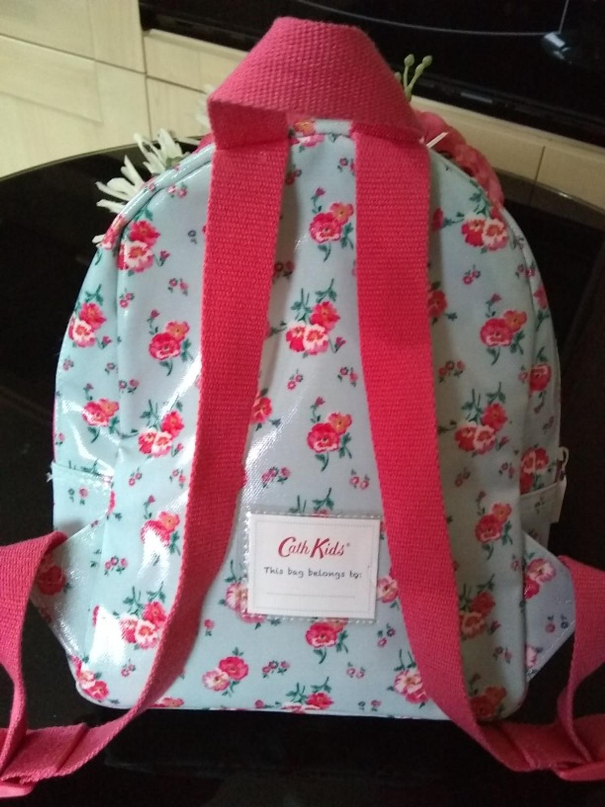 Genuine Cath Kitson backpack. Excellent condition. ideal for young child for school. Name pocket which has never been used. Collection only