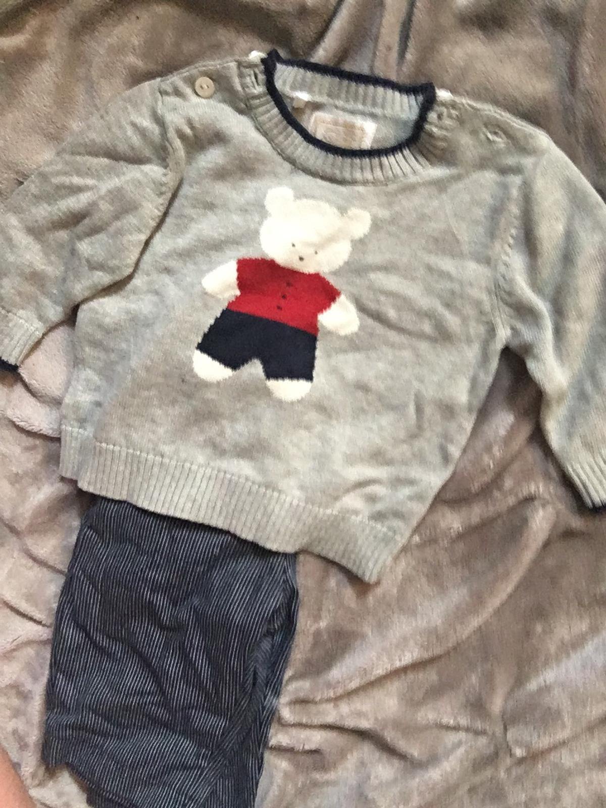 Worn once been in storage would just need a iron Emile et rose boutique outfit Jumper and striped trousers Open to offers