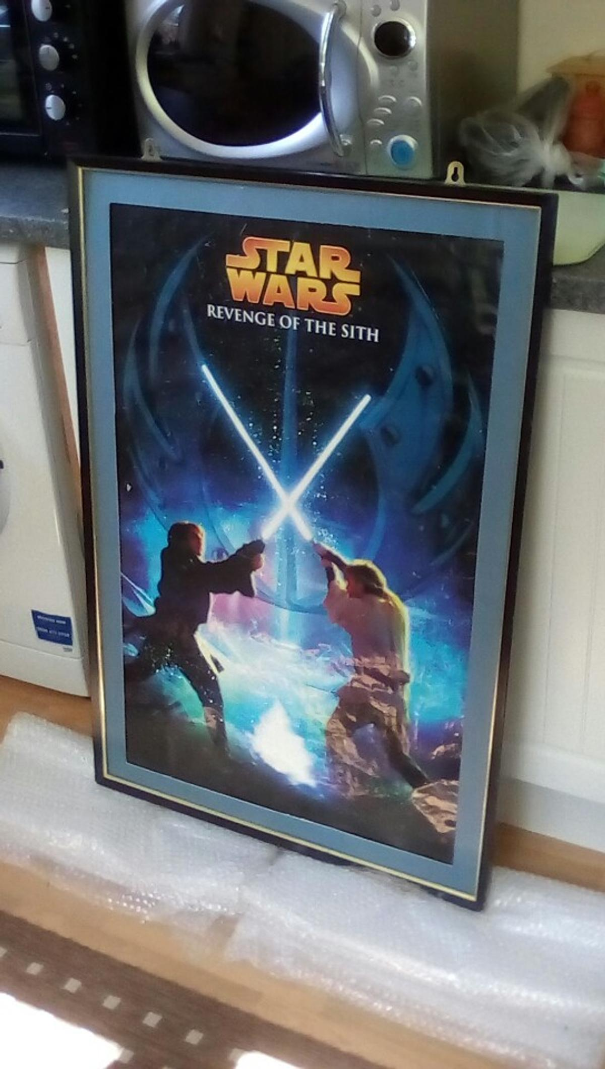 Star Wars Ep 3 Poster In Frame In Tn34 Hastings For 15 00 For Sale Shpock