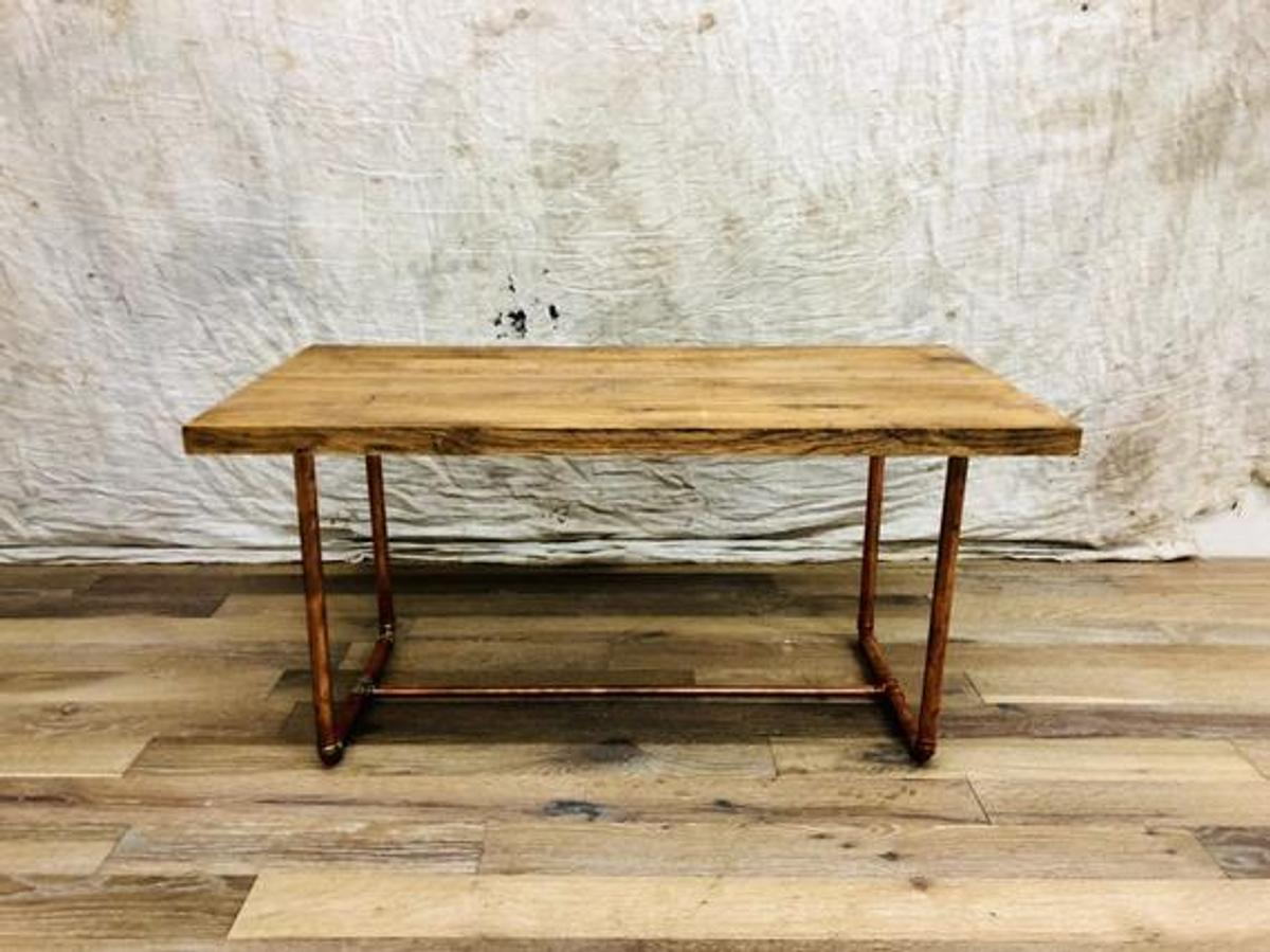 Frame Coffee Table With Solid Wood