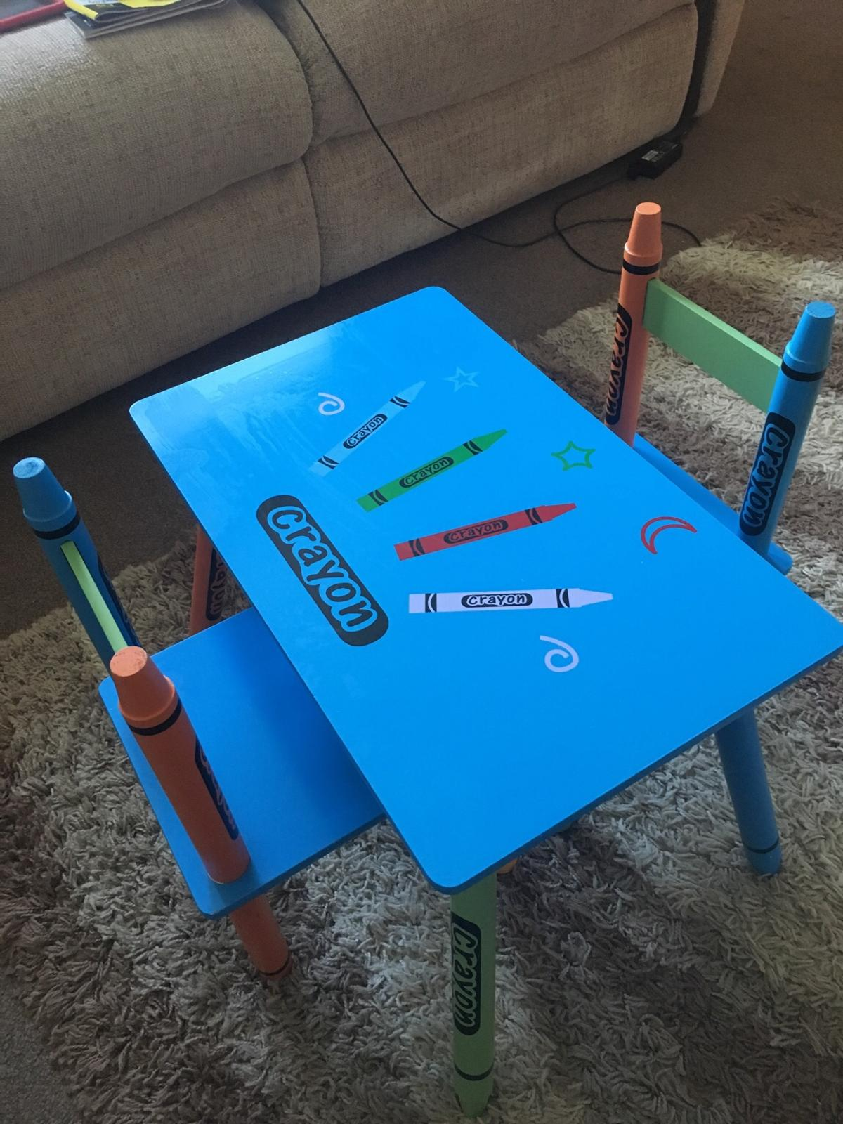 Super Crayon Kids Table And Chair Set Ocoug Best Dining Table And Chair Ideas Images Ocougorg