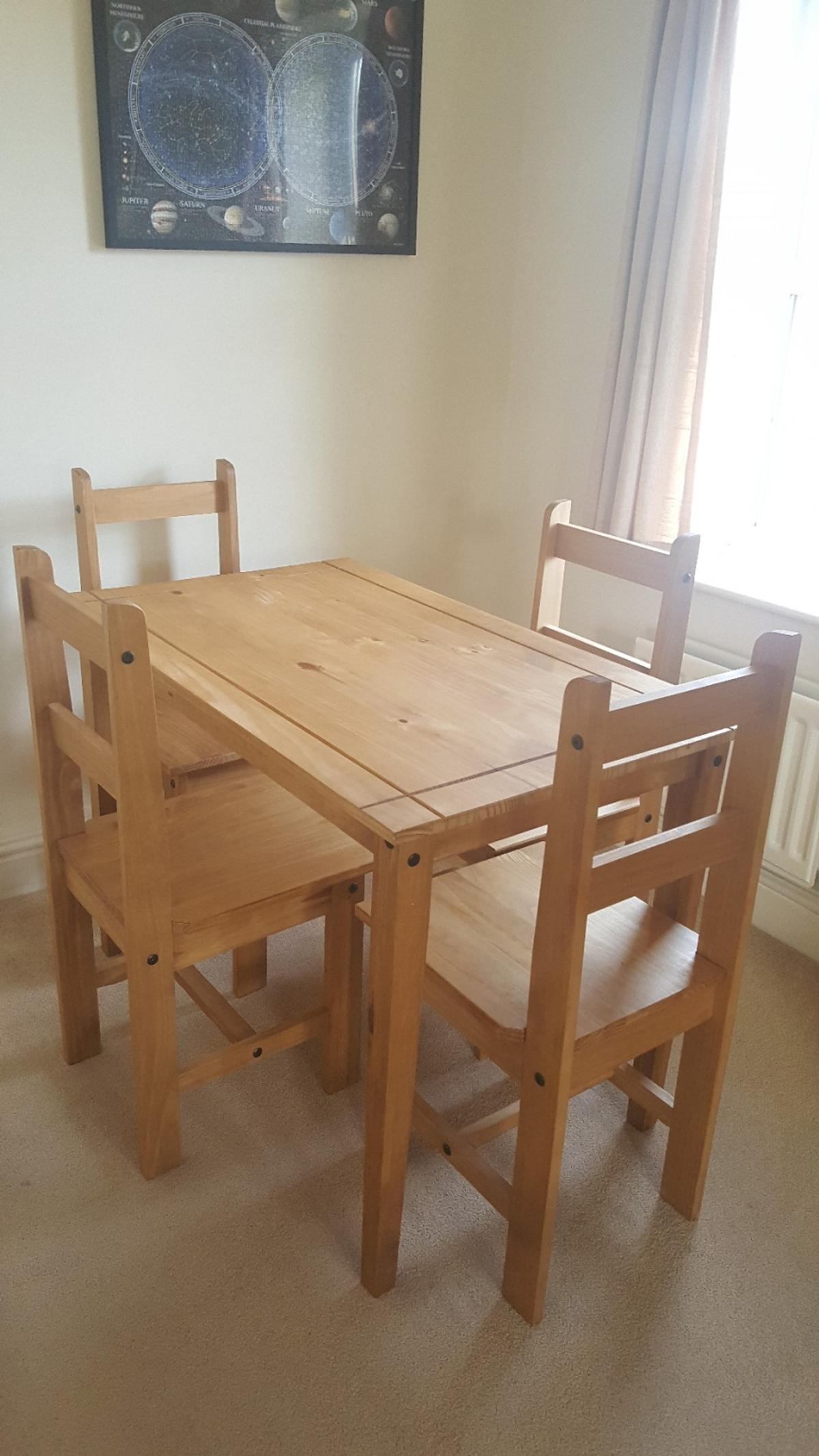 Corona Small Dining Table 4 Chairs In Eastbourne Fur 70 00 Zum Verkauf Shpock At