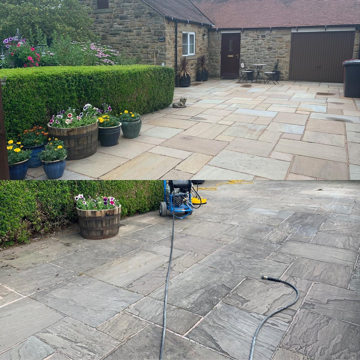 Driveway Cleaning In Chesterfield In S44 North East Derbyshire Fur