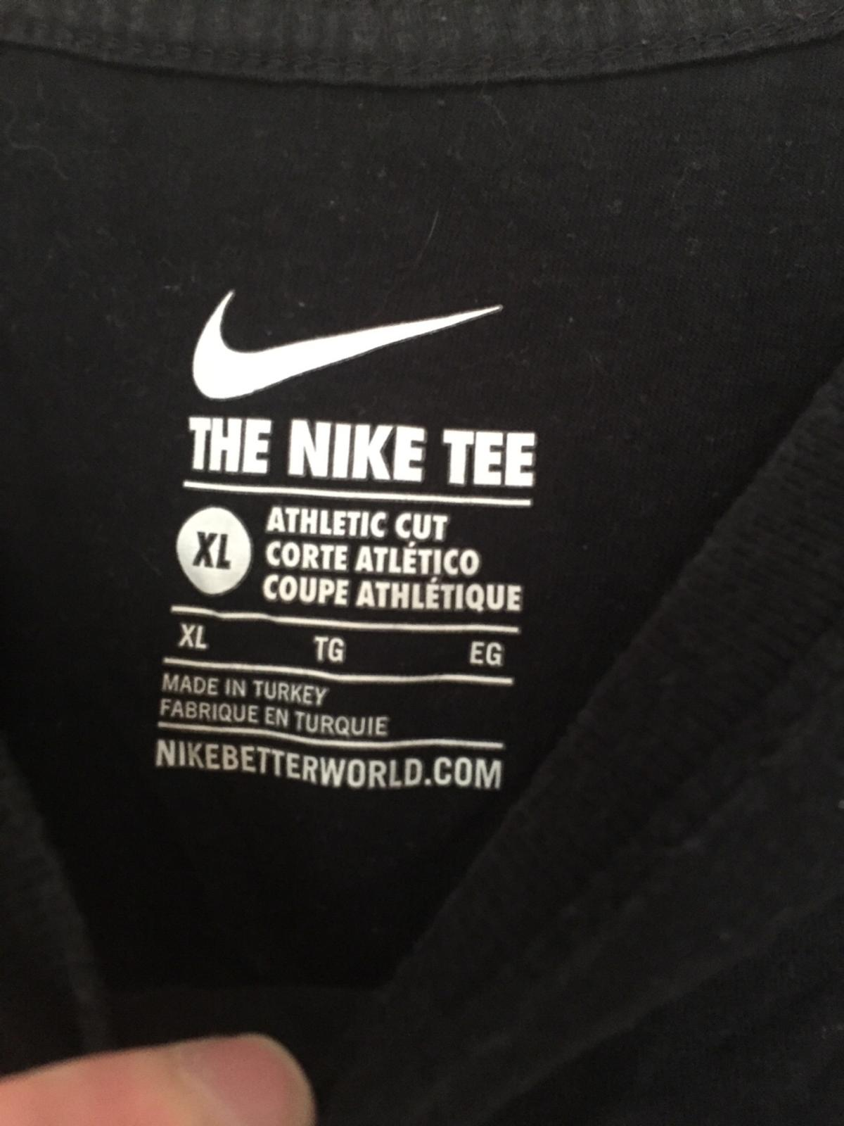 nike cut the check shirt
