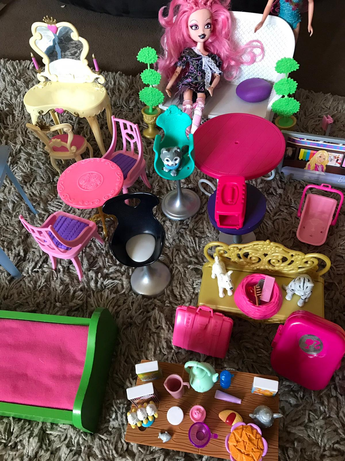Stupendous Barbie Doll Furniture Job Lot Pdpeps Interior Chair Design Pdpepsorg