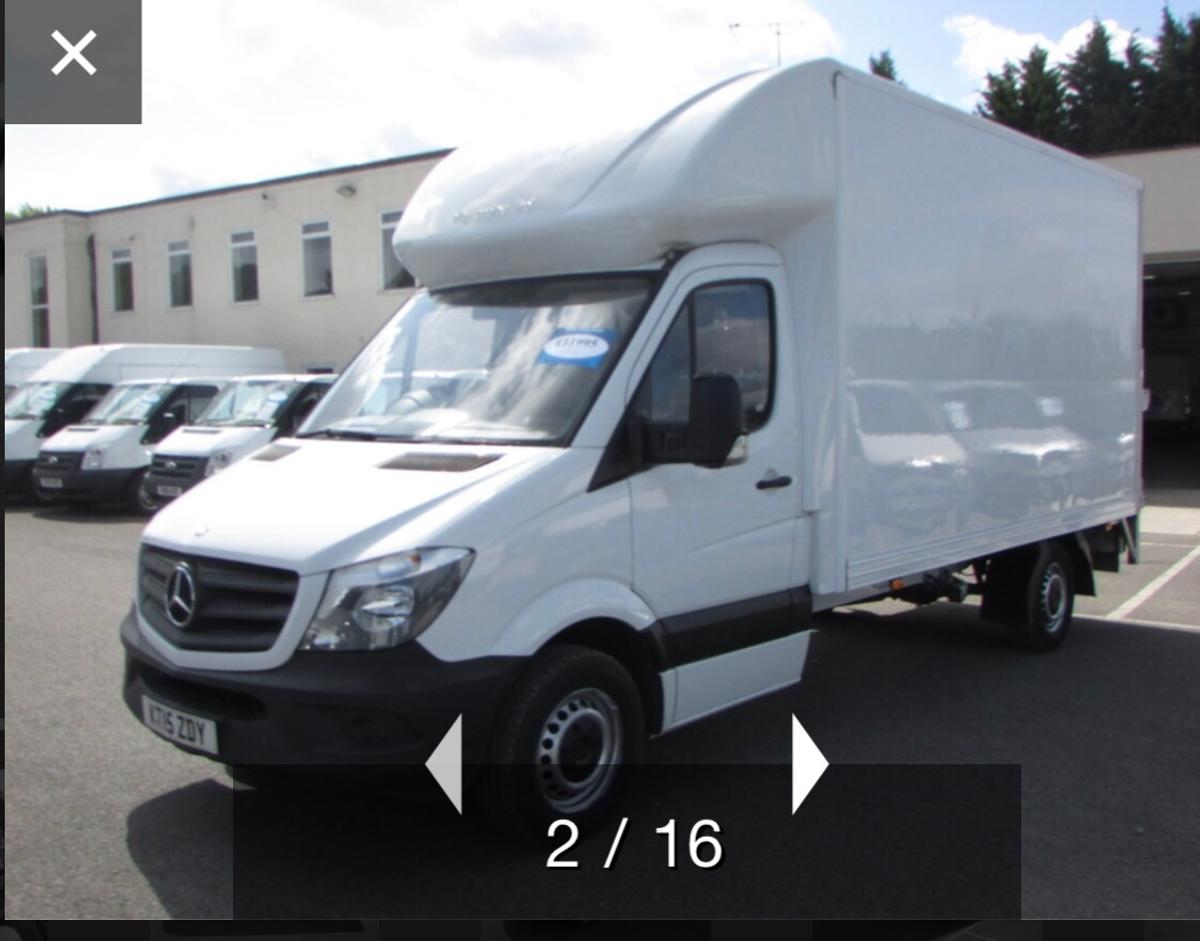 2016 Mercedes-Benz Luton Sprinter