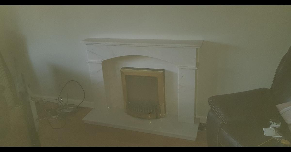 Solid Marble Fire Surround In Pa5 Johnstone For 75 00 For Sale Shpock