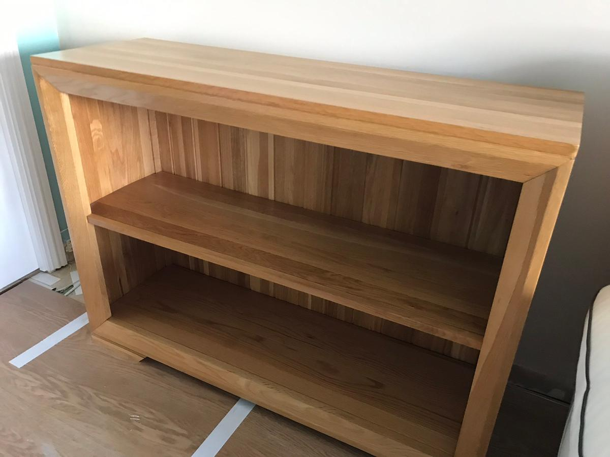 Oak Tv Stand Side Table Bookcase Display Unit In Ec2y For