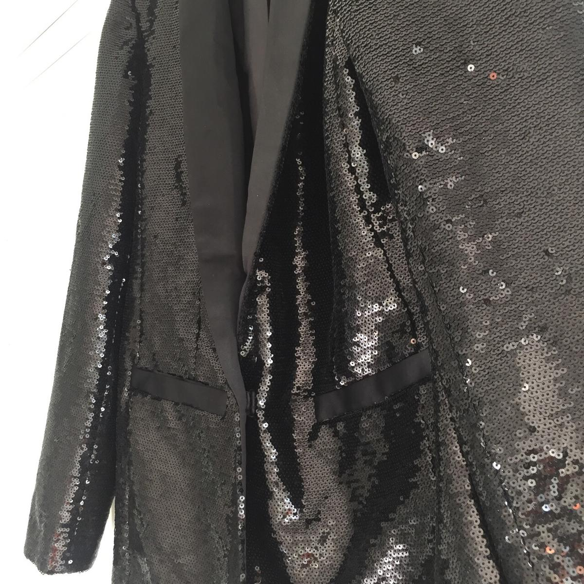 ever popular big selection rational construction Sequin blazer