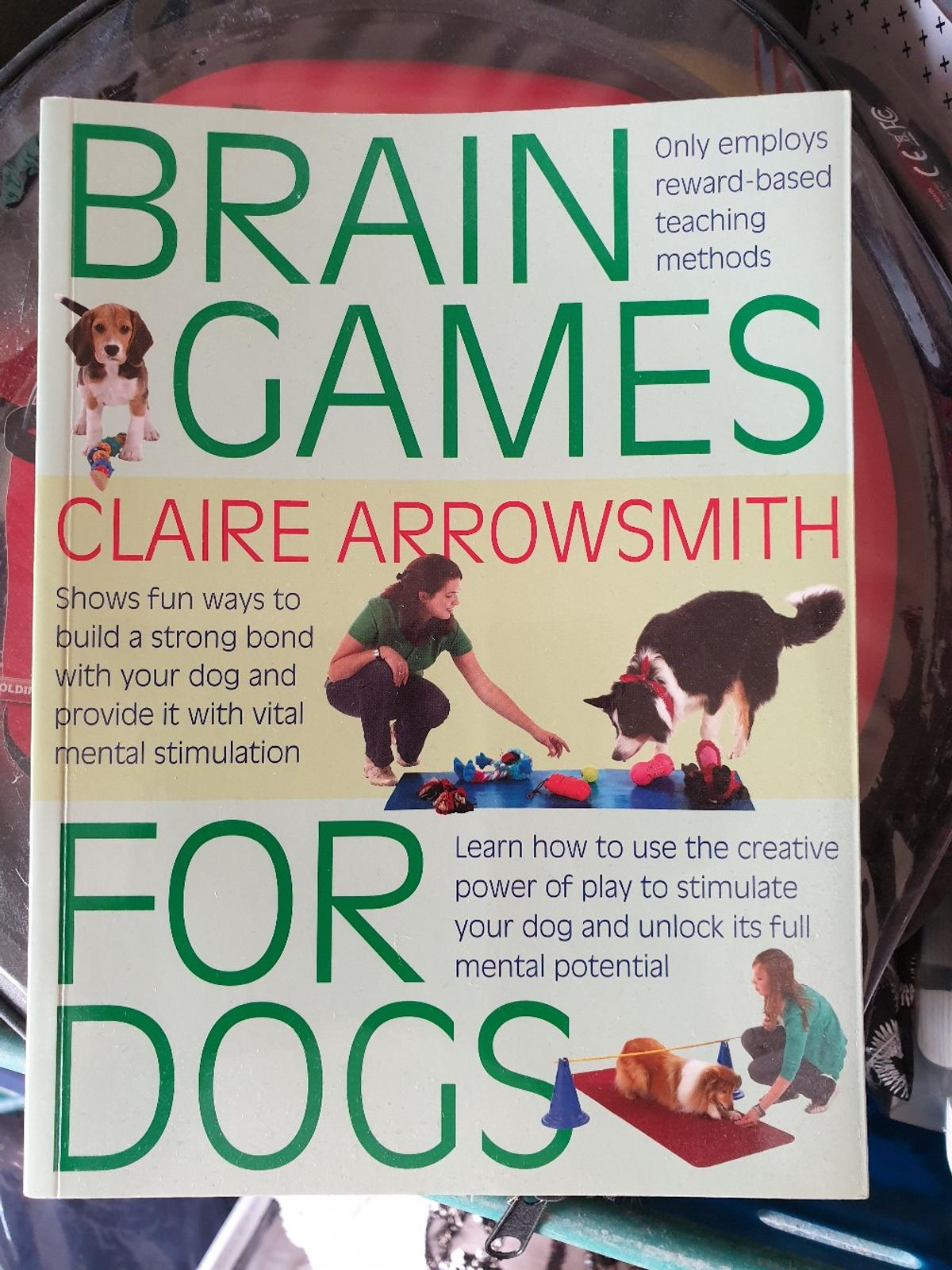 Brain games for dogs book