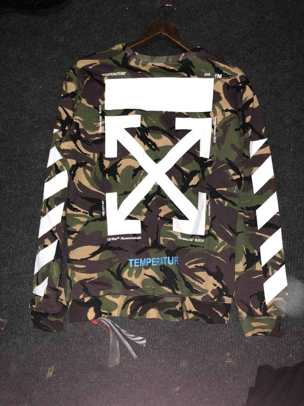 Off White Christmas Hoodie.2x Off White Jumper Hoodie Size M 75 In Fy7 Wyre For