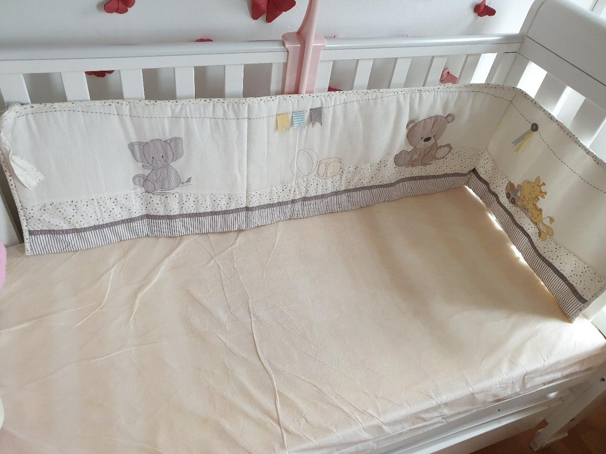 Cot bumper from Mothercare in GU21 Woking for £6.00 for sale | Shpock